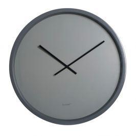 Šedé nástěnné hodiny Zuiver Time Bandit, ø60cm