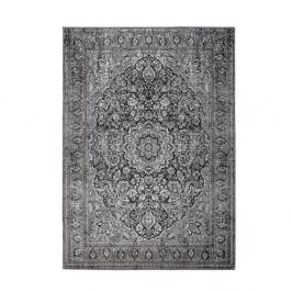 Černošedý koberec White Label Chi, 160x231cm