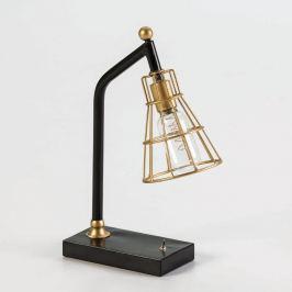 Stolní lampa ve zlaté barvě Thai Natura Bhang