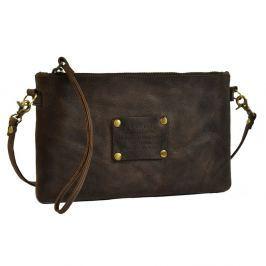 Tmavě hnědá kožená kabelka O My Bag The Betsy