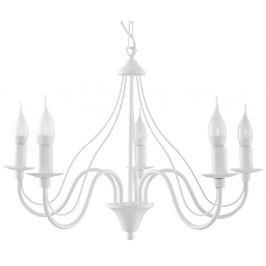 Bílé závěsné svítidlo Nice Lamps Floriano 5