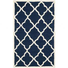 Tmavě modrý koberec Safavieh Noelle, 91 x 152 cm
