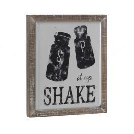 Dekorativní cedule v dřevěném rámu Geese Shake