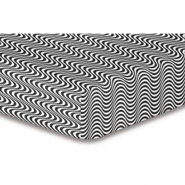 Prostěradlo z mikrovlákna DecoKing Hypnosis Deerest Mia, 220x240cm
