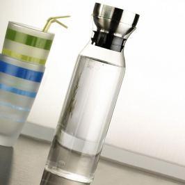 Skleněná lahev s filtrem Kaylee, 26x7x7cm