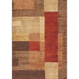 Hnědý koberec Universal Delta, 57x110cm