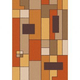 Oranžovohnědý koberec Universal Boras Rust, 133x190cm