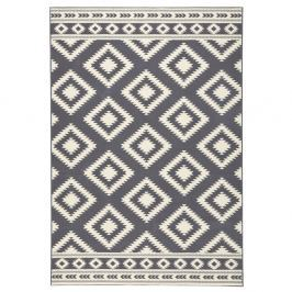 Šedý koberec Hanse Home Gloria Ethno, 80x150cm