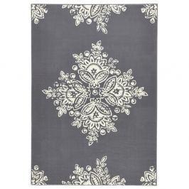 Šedobílý koberec Hanse Home Gloria Blossom, 160x230cm
