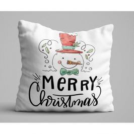 Polštář Christmas Snowman, 45x45 cm
