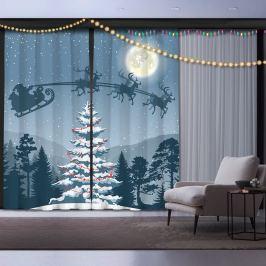 Sada 2 vánočních závěsů Night before Christmas