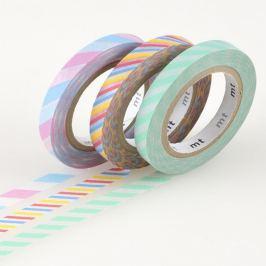 Sada 3 washi pásek Twist A
