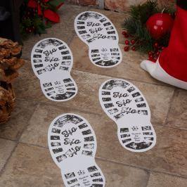 Sada 12 papírových dekorací Neviti Dear Santa, 10x24cm