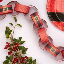Papírový řetěz Neviti Dear Santa
