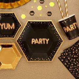 Sada 8papírových talířů Neviti Glitz & Glamour Party