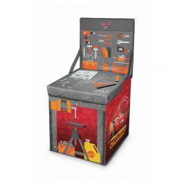 Rozkládací úložný box s hracím stolkem Domopak Cars