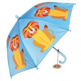 Dětský holový deštník Ambiance Rex London Charlie The Lion, ⌀64cm