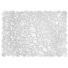 Transparentní podložka do dřezu iDesign Blumz, 30,5x39,5cm