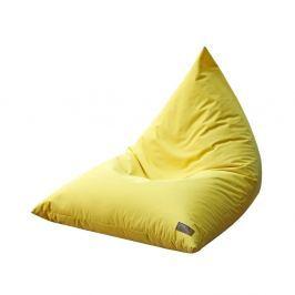 Žlutý sedací vak Evergreen House Comfy