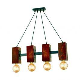 Závěsné svítidlo z habrového dřeva Carina Quatro