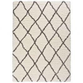 Bílo-šedý koberec Universal Samira White, 160 x 230 cm