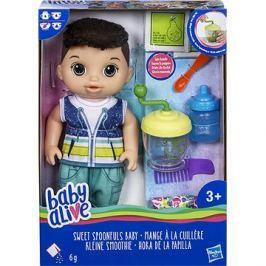 Baby Alive Tmavovlasý chlapeček s mixérem