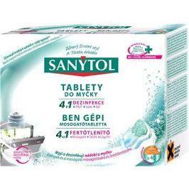 Sanytol 4 v 1 tablety do myčky nádobí 40 ks