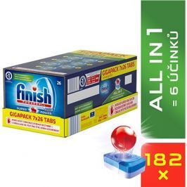 FINISH All-in-1 Gigabox 182 ks