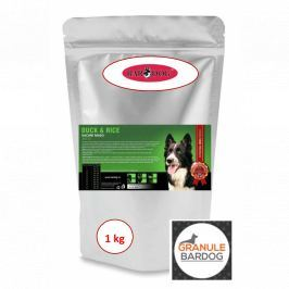 Bardog Super prémiové granule Duck Rice 24/12 1 kg