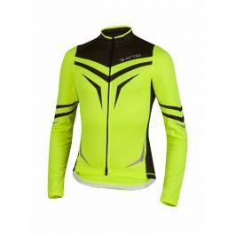 Attiq Unisex funkční top Cycling-jersey-unisex-long-sleeves-fluo