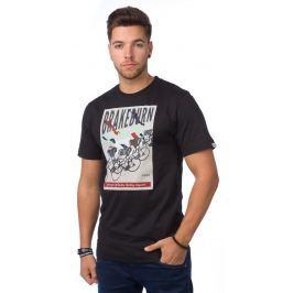 Brakeburn Pánské tričko BBMSST002018F15_aw15 černá