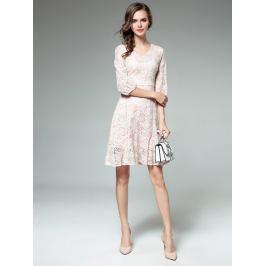 Kaimilan Dámské šaty QC696 Pink