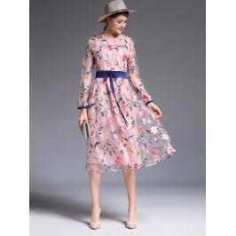 Kaimilan Dámské šaty QC473 Pink