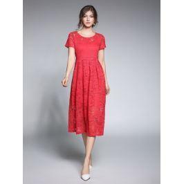 Kaimilan Dámské šaty QC482 Red