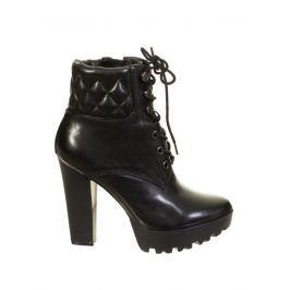Guess Dámská kotníčková obuv FLCLR4LEA10_BLACK