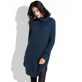 Fobya Dámské šaty F453_NAVYPEONY