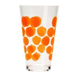 ZAK! designs - Dot Dot sklenice 30 cl - oranžová (0550-1400)