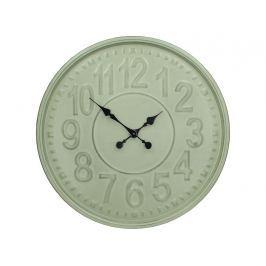 KERSTEN - Hodiny, zelené, kov,  62x5,5x62cm - (WER-1184)