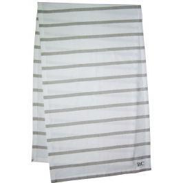 Runner 50x160 White Natural Stripes