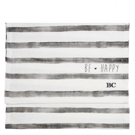 X Runner 50x160 White/black stripe & be Happy