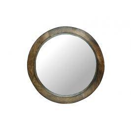 KERSTEN - Zrcadlo, dřevo, hnědá, 5x38x38cm
