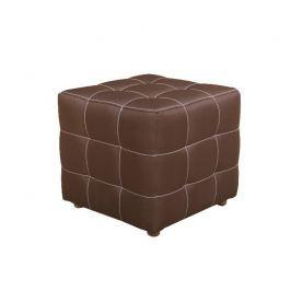 Taburet, čokoládová, KAZARA