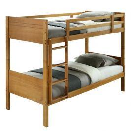 Patrová postel, masivní dřevo, dub, MAKIRA