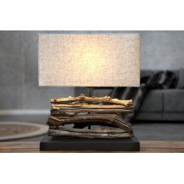 Masiv24 - Stolní lampa LUPUS III - béžová