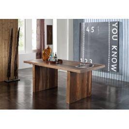 Masiv24 - Sheesham jídelní stůl  200x100, masivní palisandr BARON