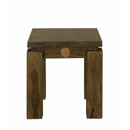 Masiv24 - Masivní indický palisandr, příruční stolek MONTANA