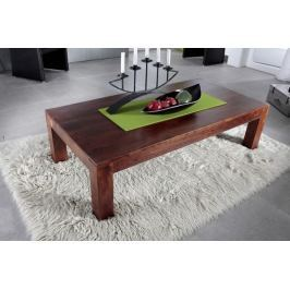Masiv24 - Koloniální konferenčný stolek 120x75 masívny akáciový nábytok CUBUS CAMBRIDGE