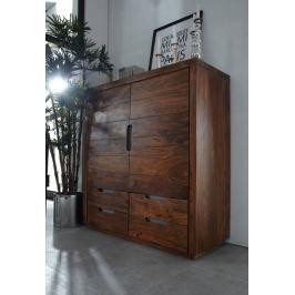 Masiv24 - Sheesham komoda, masivní palisandrové dřevo BARON