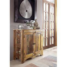 Masiv24 - OLDTIME komoda lakované staré indické dřevo