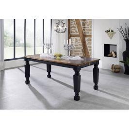 Masiv24 - KOLONIAL jídelní stůl 160x90cm lakovaný palisandr